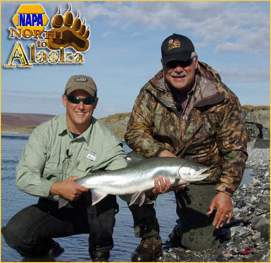 Larry Csonka of NAPA's North to Alaska on VESRUS